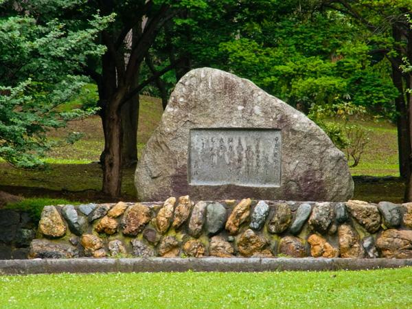 三木露風の詩碑