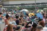 七重浜海水浴場開設